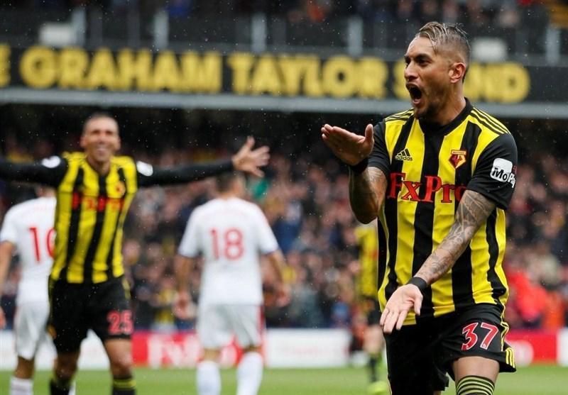 لیگ برتر انگلیس، صعود واتفورد به رده دوم با کسب سومین برد متوالی