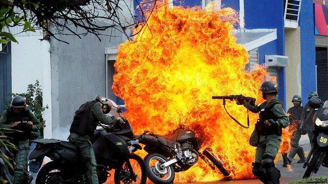 اعتراضات گازی در ونزوئلا