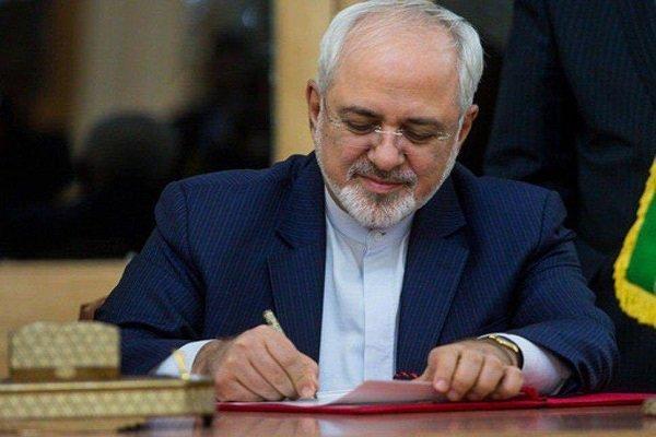 سخنگوی وزارت خارجه: جوابیه ظریف به نامه دادستان کل کشور ارسال شد
