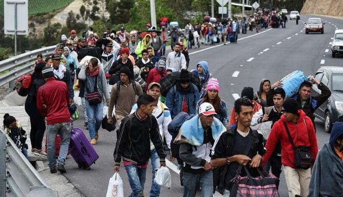 نگرانی سازمان ملل از افزایش مهاجران ونزوئلایی