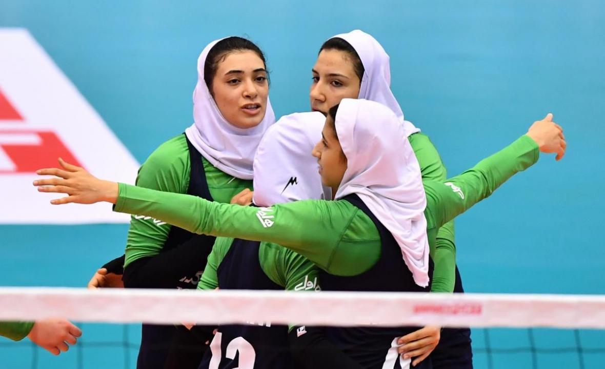 تیم والیبال بانوان ایران به جمع هشت تیم برتر آسیا راه پیدا کرد