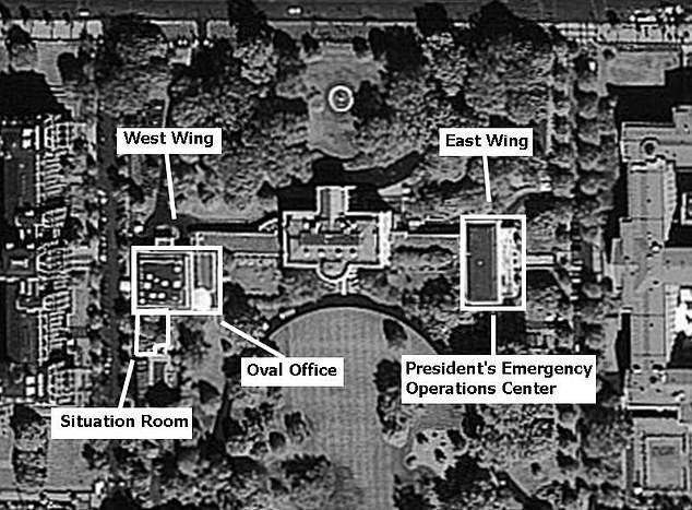 اسرار پناهگاه مخفی کاخ سفید، عکس